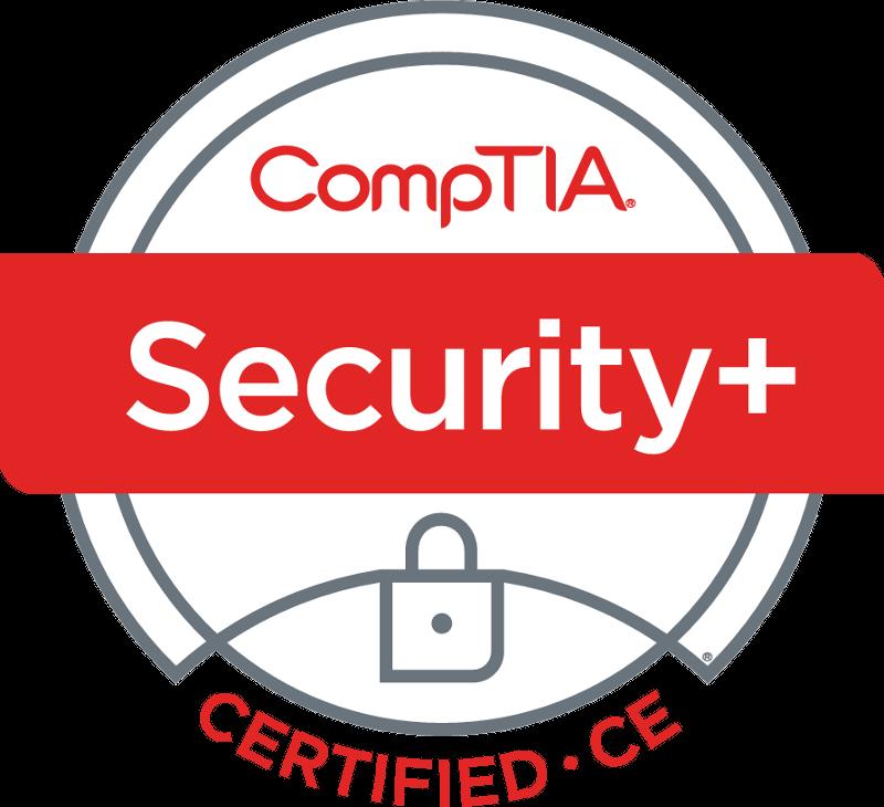 SecurityPlus Logo Certified CE